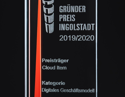 Gründerpreis Ingolstadt 2019/2020 – And the winner is: Cloud Item